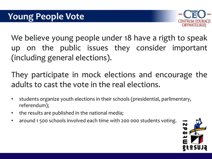 Young People Vote