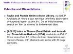 e books and dissertations