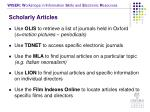 scholarly articles