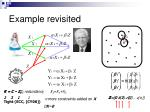 example revisited