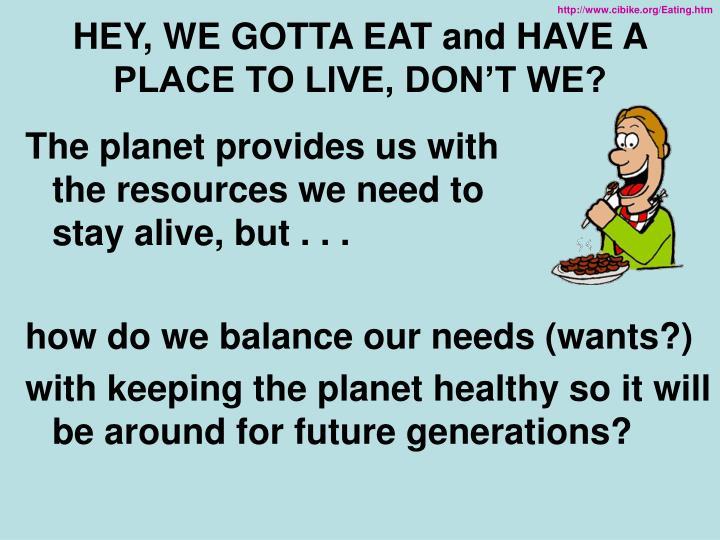 http://www.cibike.org/Eating.htm