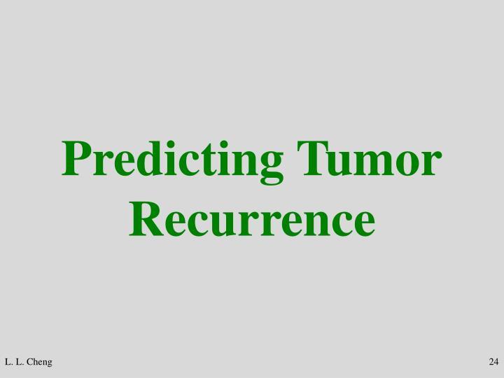 Predicting Tumor