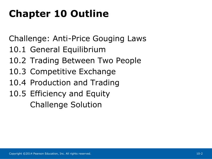 Chapter 10 outline
