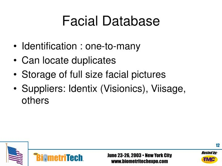 Facial Database