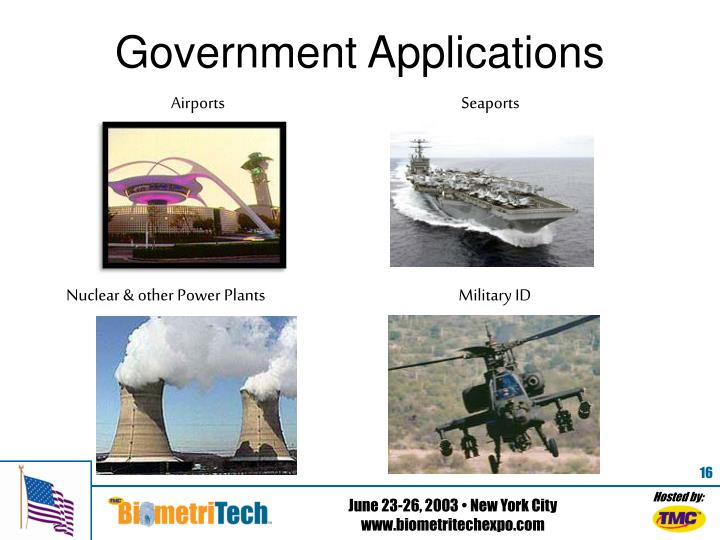 Government Applications
