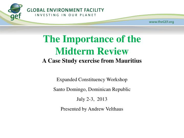 a case study on importance of