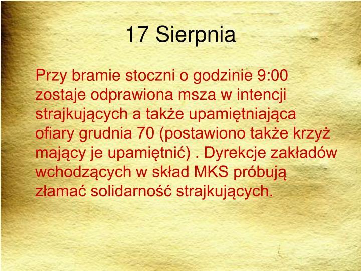 17 Sierpnia