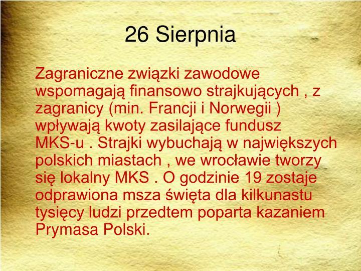26 Sierpnia