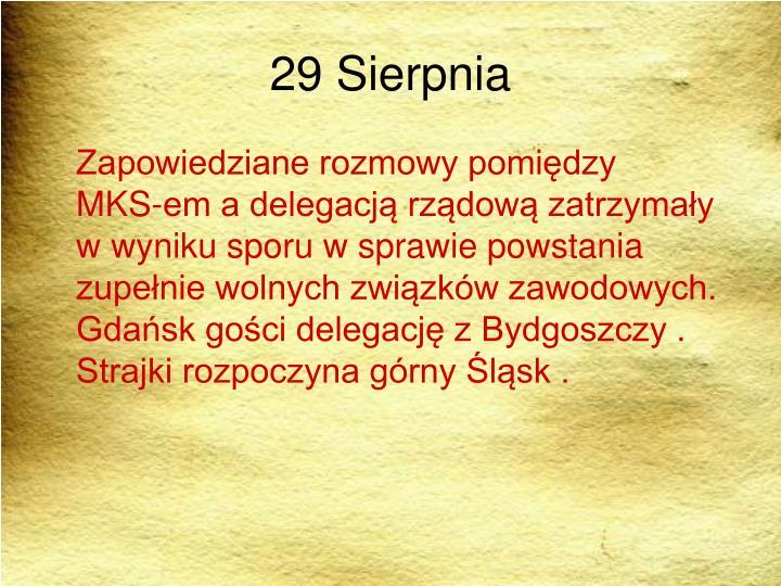 29 Sierpnia