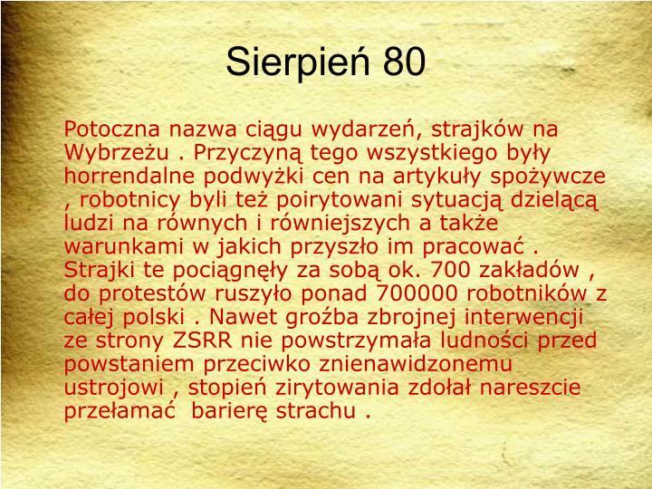 Sierpie 80