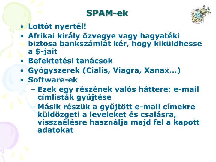 SPAM-ek