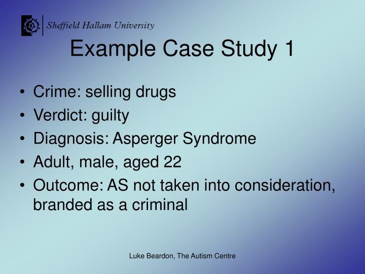 Example Case Study 1