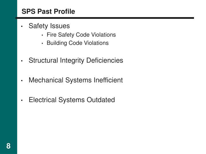 SPS Past Profile