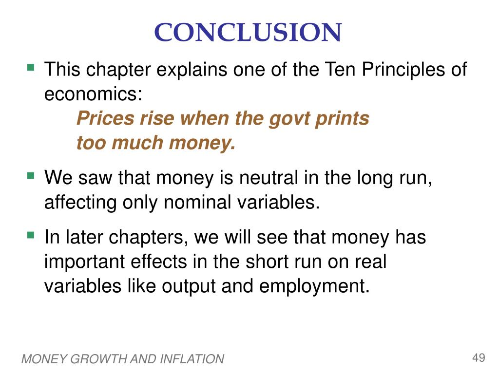 PPT - Money Growth and Inflation PowerPoint Presentation - ID:4368829