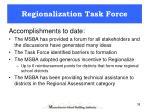 regionalization task force1
