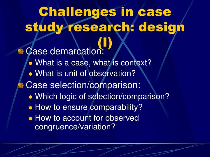 what is case study research Case-study research can mean single and multiple case studies, can include quantitative evidence, relies on multiple sources of evidence, and benefits from the prior development of theoretical.