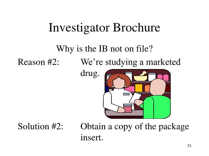 Investigator Brochure