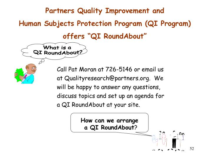 Partners Quality Improvement and