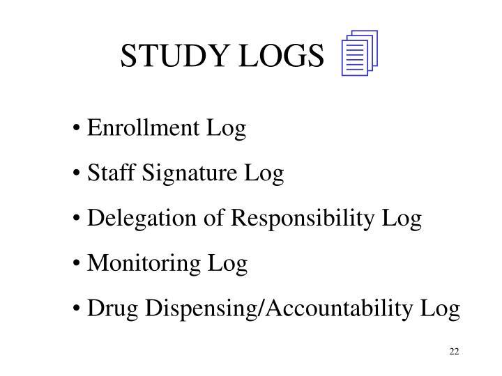 STUDY LOGS