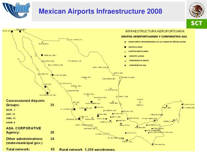 Mexican Airports Infraestructure 2008