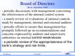 board of directors basle september 1998