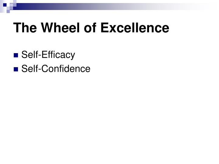 The Wheel of Excellence