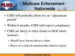 medicare enforcement nationwide