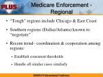 medicare enforcement regional