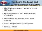medicare medicaid and schip extension act 2007