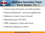 medicare secondary payer act section 111