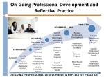on going professional development and reflective practice