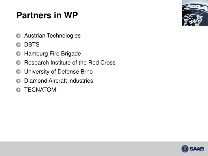Partners in wp