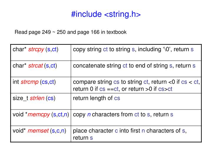 #include <string.h>