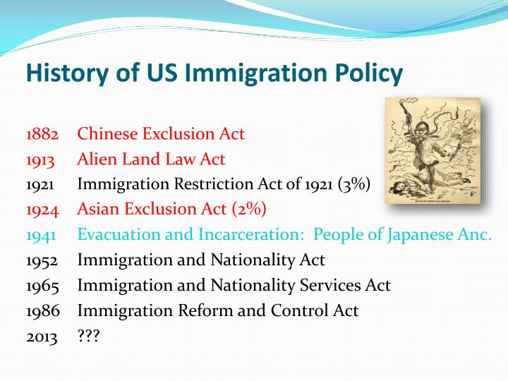 why did americans pass the 1882 chinese exclusion act By 1882, everyone agreed to restrict immigration, partly because violent fights between americans and chinese were breaking out across the country, and the chinese exclusion act was passed impact.