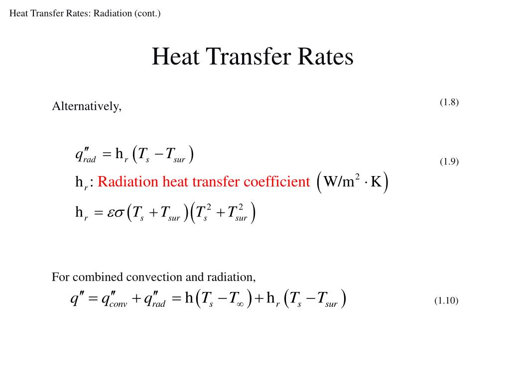 Ppt Heat Transfer Physical Origins And Rate Equations Powerpoint Presentation Id 4370026
