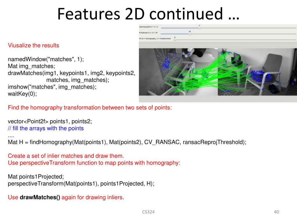 PPT - OpenCV Tutorial PowerPoint Presentation - ID:4370047