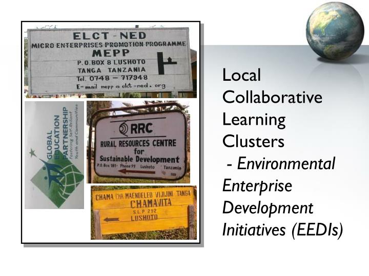 Local Collaborative Learning Clusters