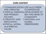 core content