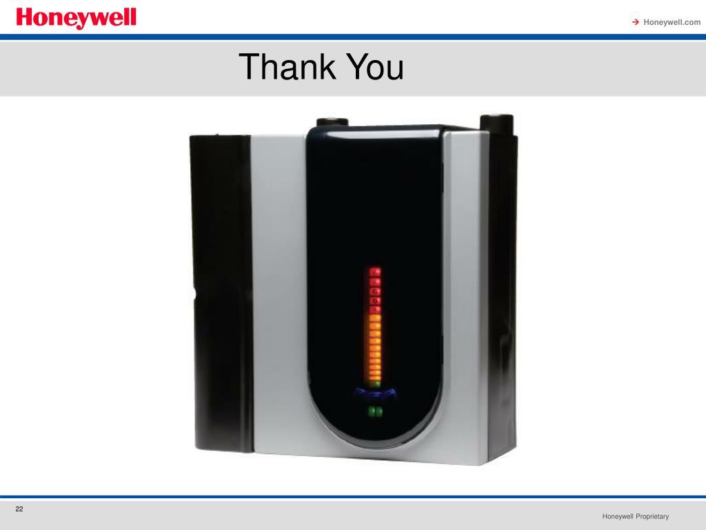 PPT - Honeywell Analytics Fire Alarm Aspiration Sensing