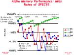 alpha memory performance miss rates of spec92