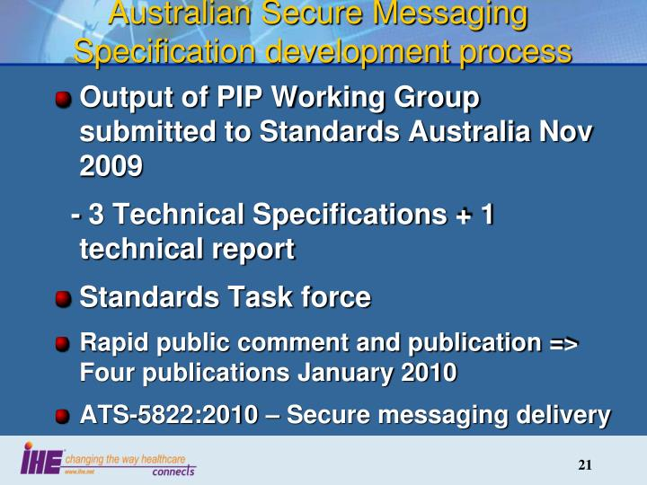 Australian Secure Messaging