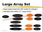 large array set