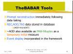 thebabar tools