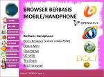 browser berbasis mobile handphone