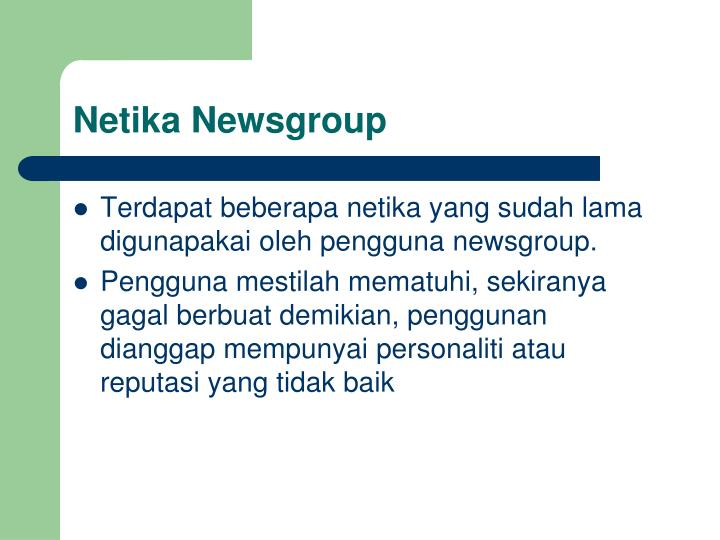 Netika Newsgroup