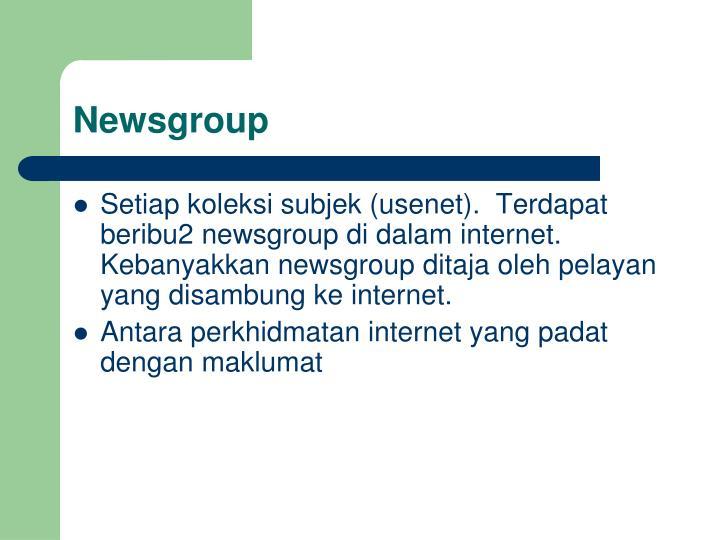 Newsgroup