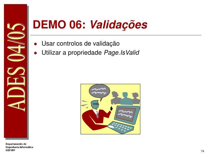 DEMO 06: