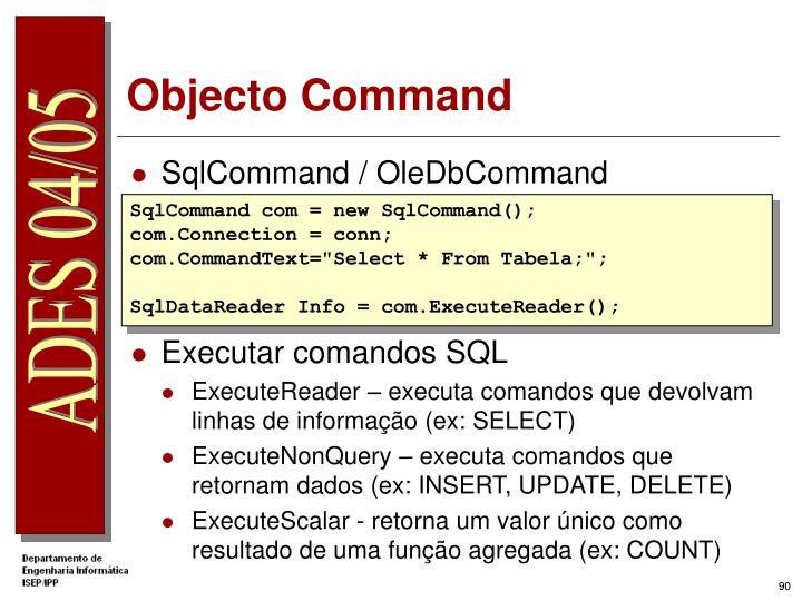 Objecto Command