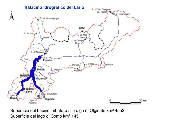 Il Bacino idrografico del Lario