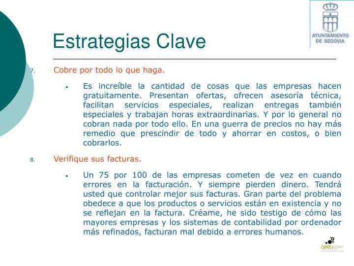 Estrategias Clave